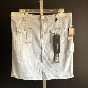 NWT Liverpool Jeans Company Clarice Cargo Skirt L